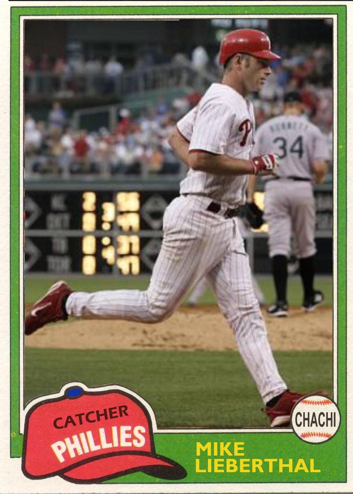 Topps Baseball Card Template Elegant the Phillies Room How to Make A Baseball Card