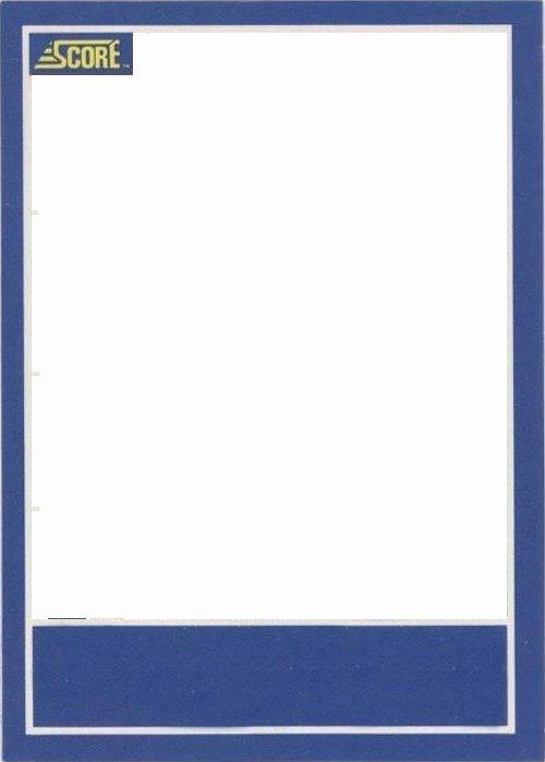 Topps Baseball Card Template Inspirational Baseball Card Template
