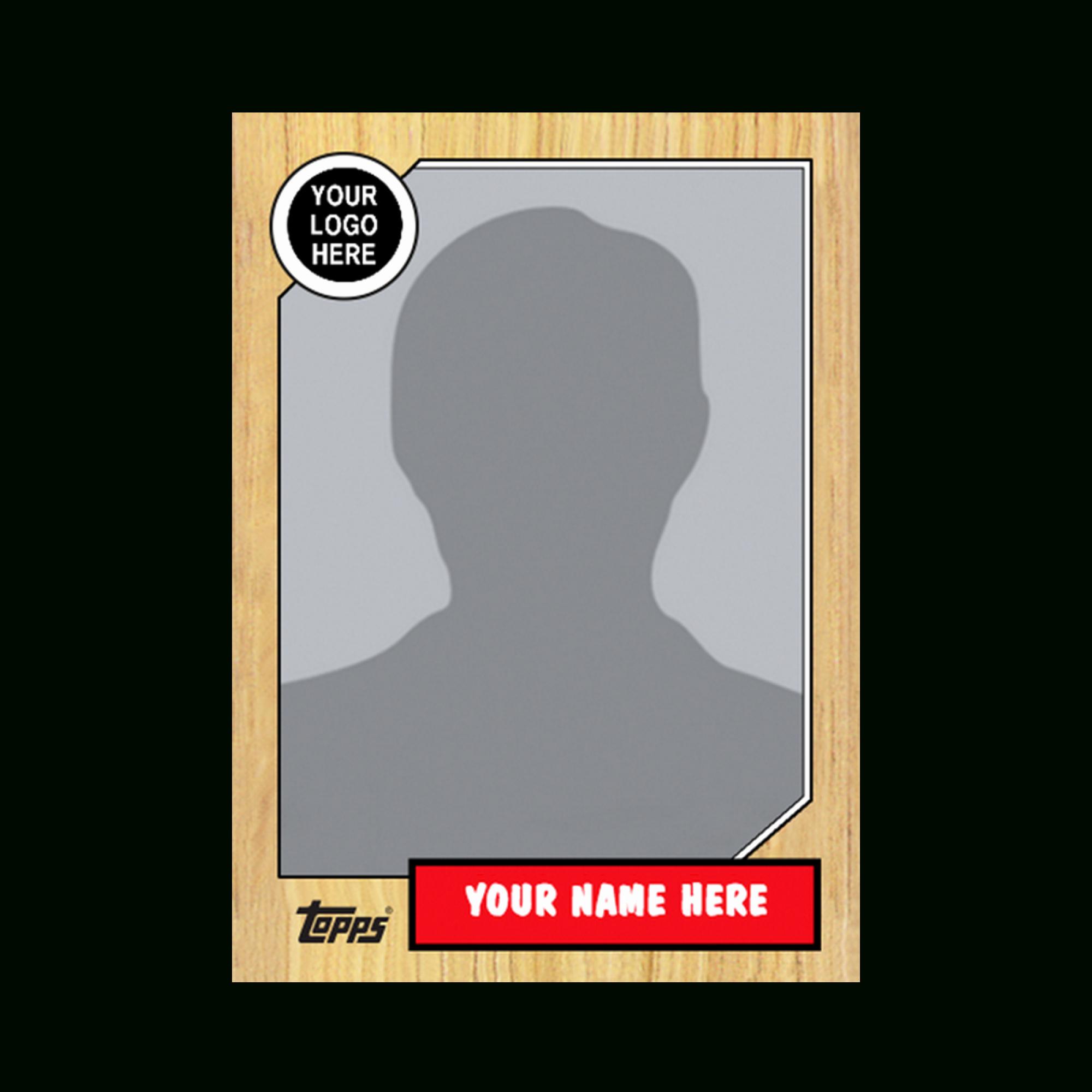 Topps Baseball Card Template New Baseball Card Template