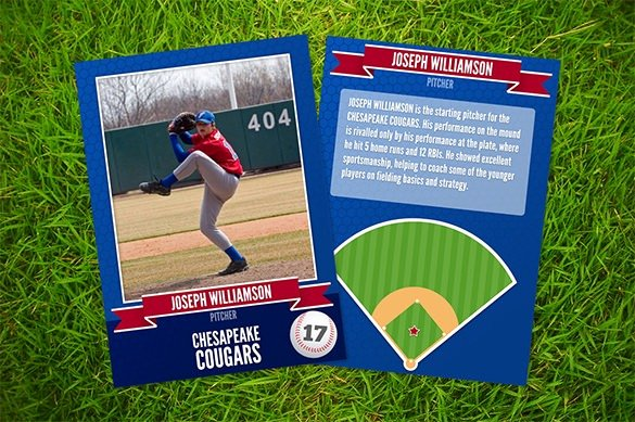 Topps Baseball Card Template Unique Baseball Card Template