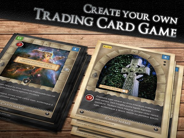Trading Card Game Template Awesome Tcg Fantasy Trading Card Game Kit In Me Val On Behance