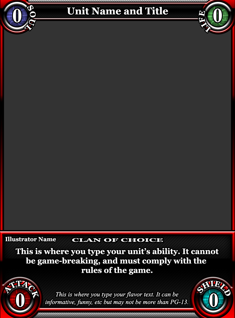 Trading Card Game Template Inspirational Tcg Card Template by Classysecretagent On Deviantart