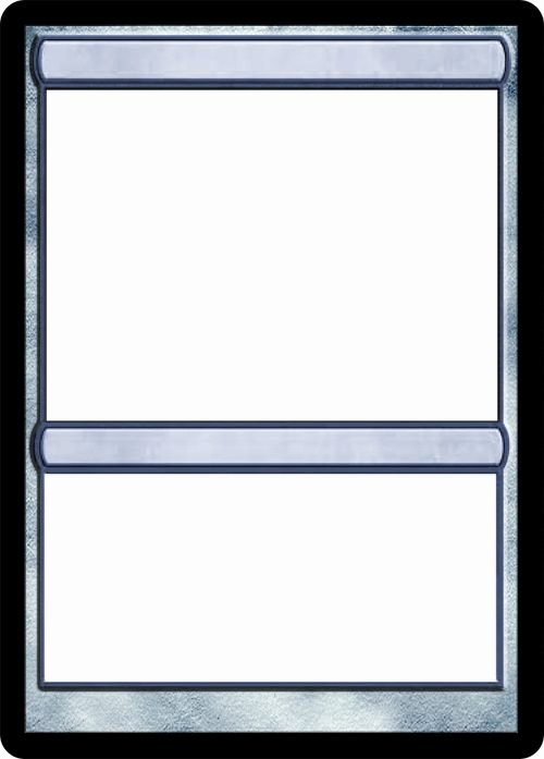 Trading Card Game Template New Magic Trading Card Template