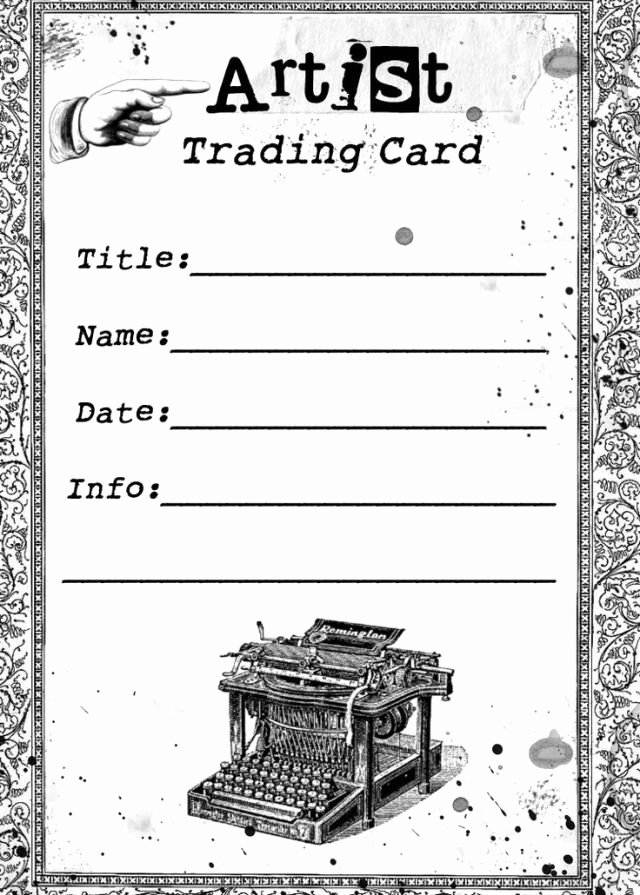 Trading Card Game Template New Trading Card Game Template Free Download Printable