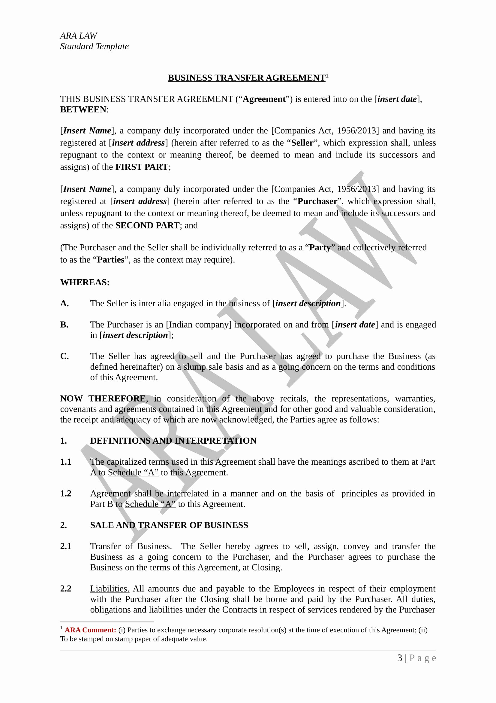 Transfer Of Ownership Template Beautiful 4 Restaurant Transfer Of Ownership forms Pdf Doc