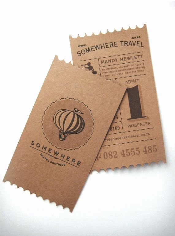 Travel Agency Id Card Best Of Business Cards Of the Week Design