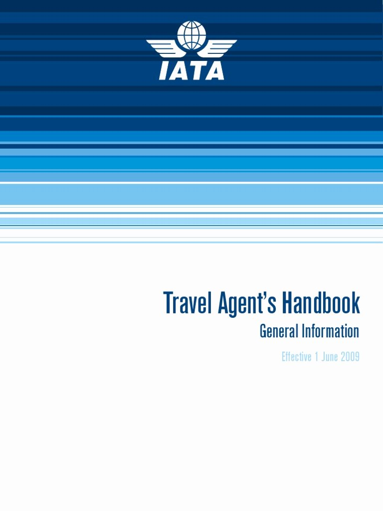 Travel Agency Id Card Best Of Iata Travel Agent Handbook Credit Card