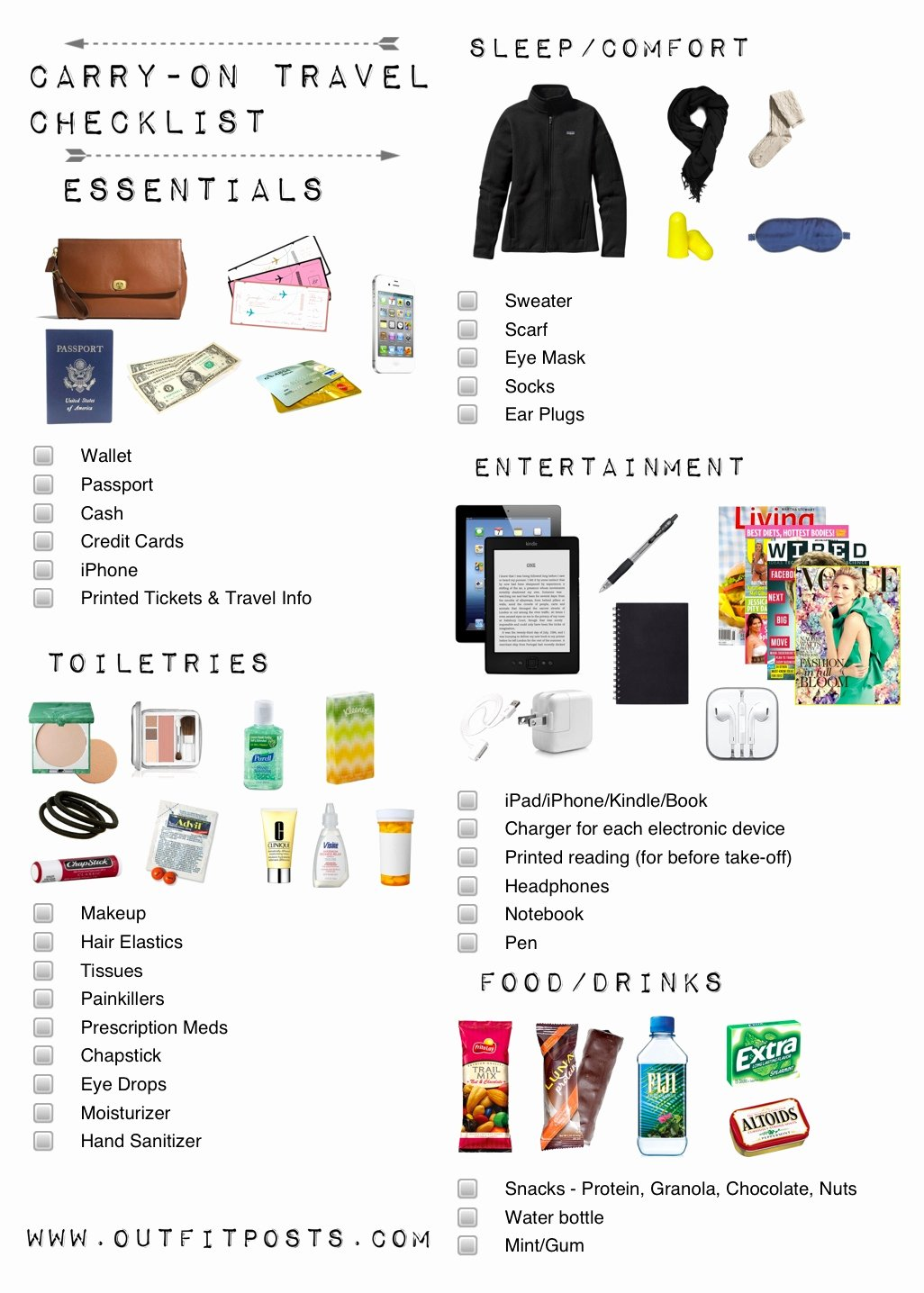 Travel Packing List Fresh Outfit Posts Packing Carry On tote for A Long Flight