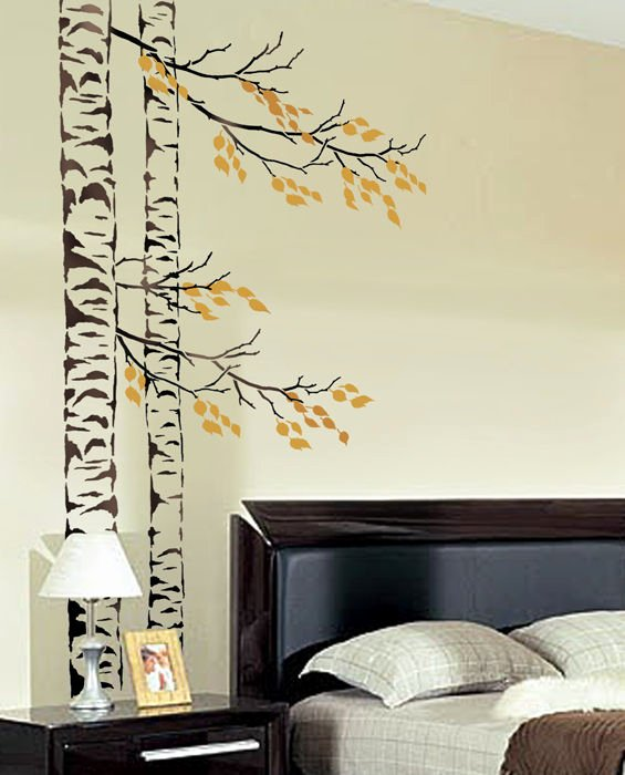 Tree Stencils for Walls Free Awesome Beautiful Birches Wall Stencil Reusable Tree