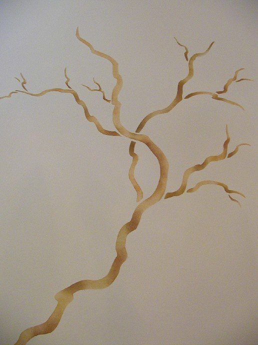 Tree Stencils for Walls Free Beautiful Chinese Rose Tree Painting Stencil Wall Stencil