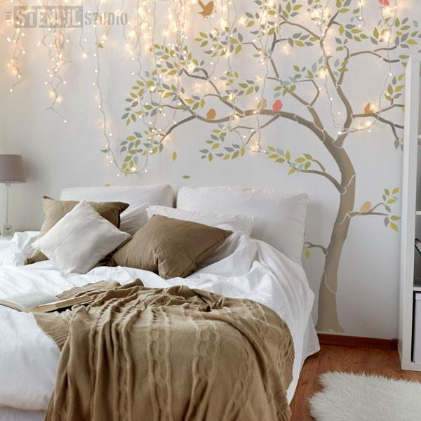 Tree Stencils for Walls Free Best Of Tree Stencils for Walls Bird Stencil Branch