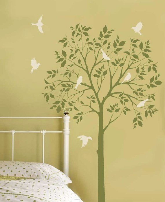 Tree Stencils for Walls Free Fresh Tree Stencils