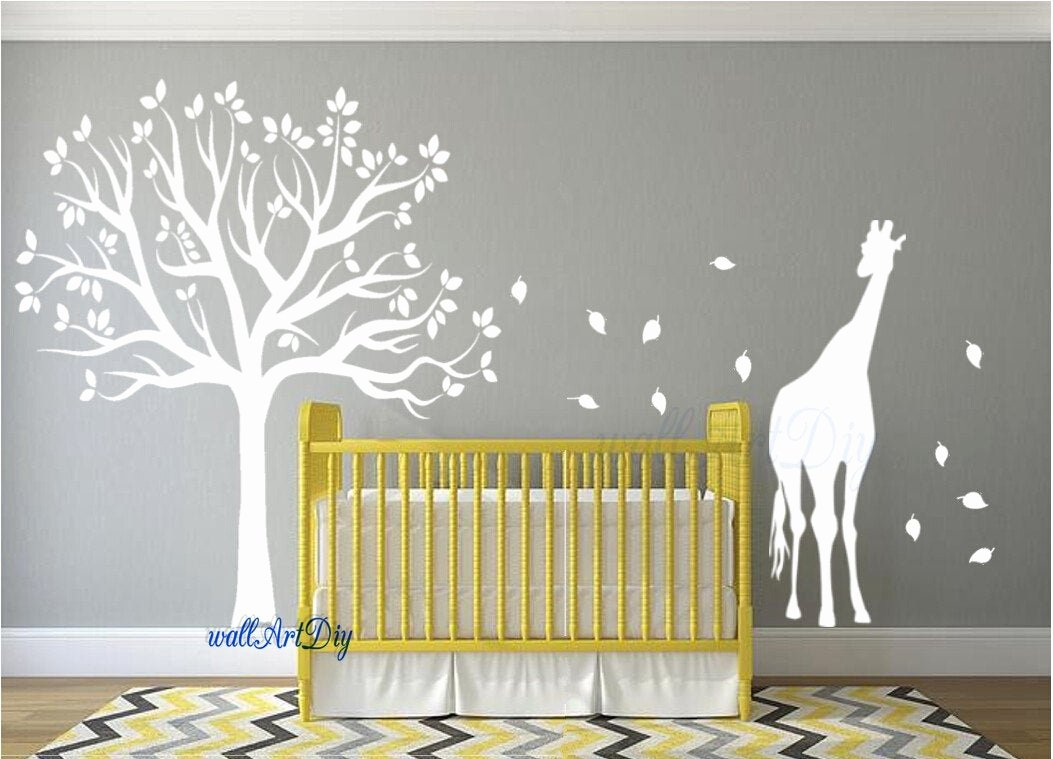 Tree Stencils for Walls Free Lovely Nursery Wall Decals Tree Wall Stencil White Tree Wall Decals