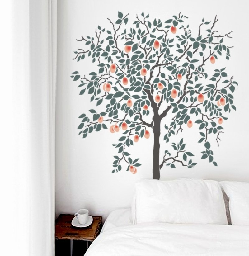 Tree Stencils for Walls Free Lovely Tree Stencils Olive Leaf Stencils