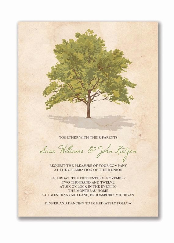 Tree Wedding Invitations Templates Best Of 130 Best Wedding Invitations Save the Dates Stationary
