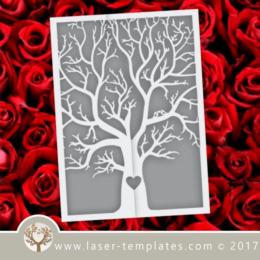 Tree Wedding Invitations Templates Luxury Laser Cut Invitations Template Free Designs Every Day
