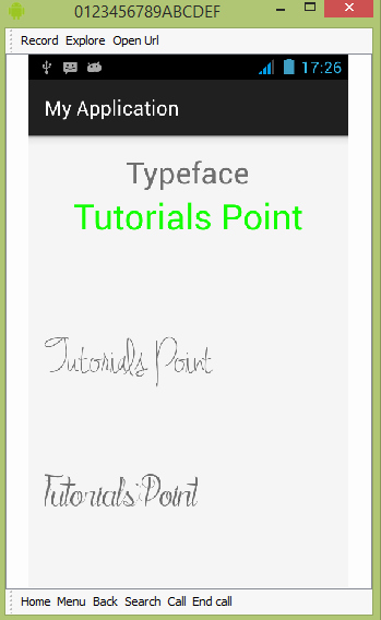 Ttf Fonts for android Awesome android Custom Fonts