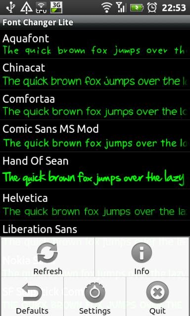 Ttf Fonts for android Awesome Personalize Your Device with Font Changer for android