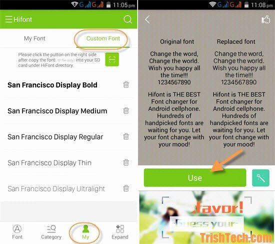 Ttf Fonts for android Fresh Use San Francisco Ios 9 Font In android Devices