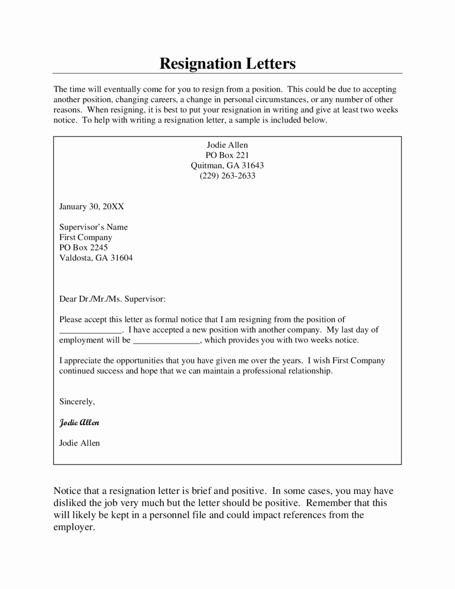 Two Week Notice forms Elegant 2019 Two Weeks Notice Fillable Printable Pdf & forms