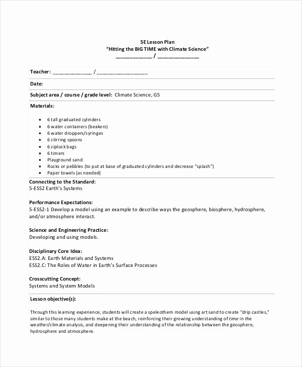 Udl Lesson Plan Template Best Of Lesson Plan Template 14 Free Word Pdf Documents