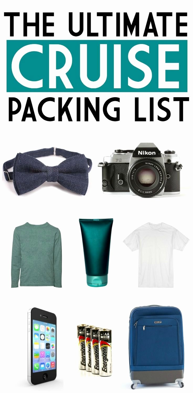Ultimate Cruise Packing List Awesome Best 25 Cruise Packing Ideas On Pinterest