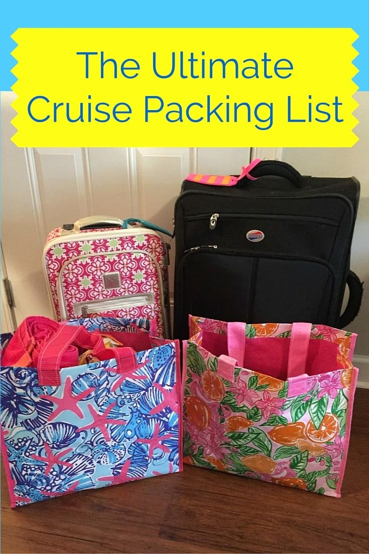 Ultimate Cruise Packing List Inspirational 17 Best Ideas About Cruise Packing Lists On Pinterest