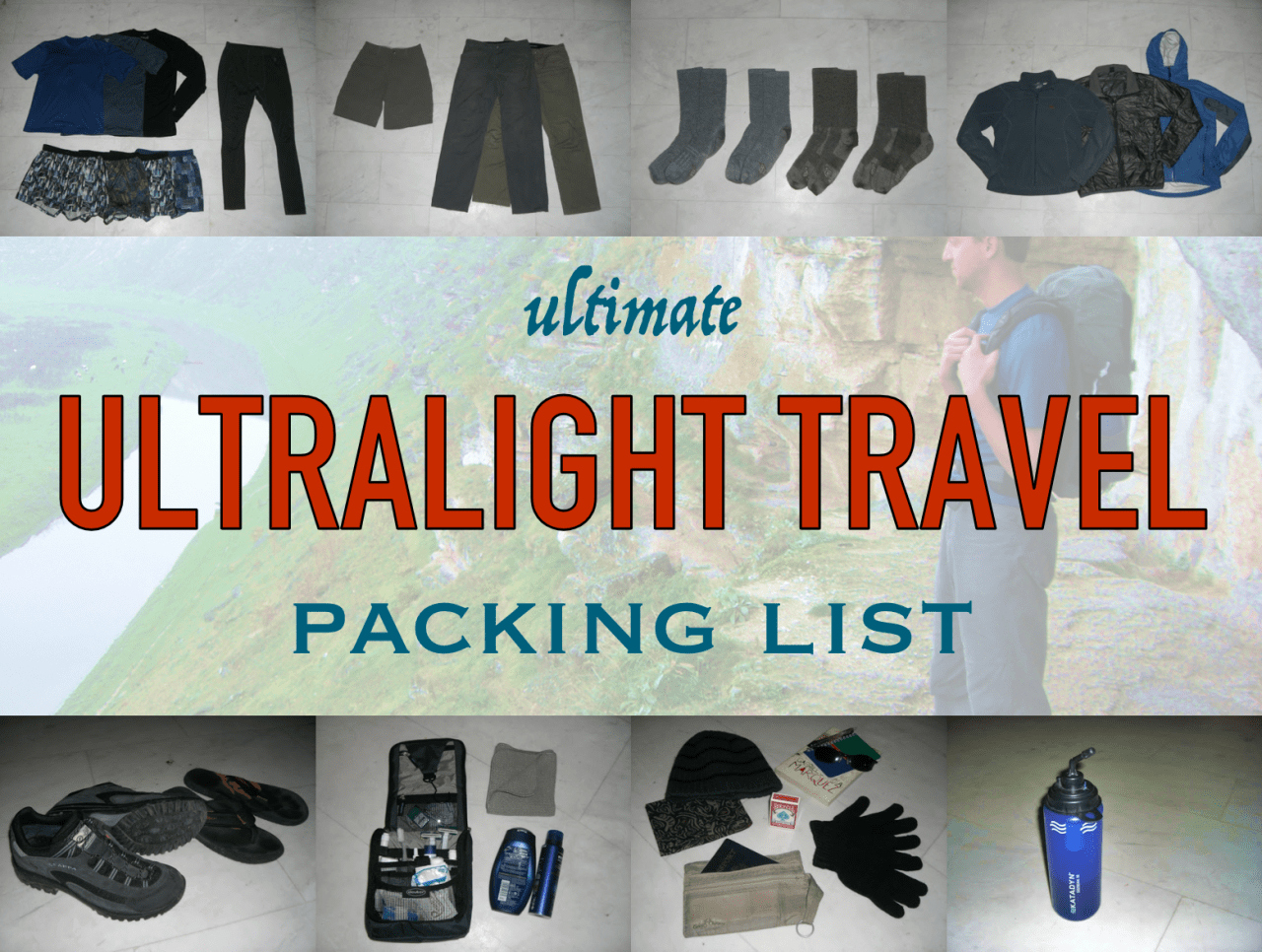 Ultimate Cruise Packing List Lovely Ultimate Ultralight Travel Packing List – Snarky Nomad