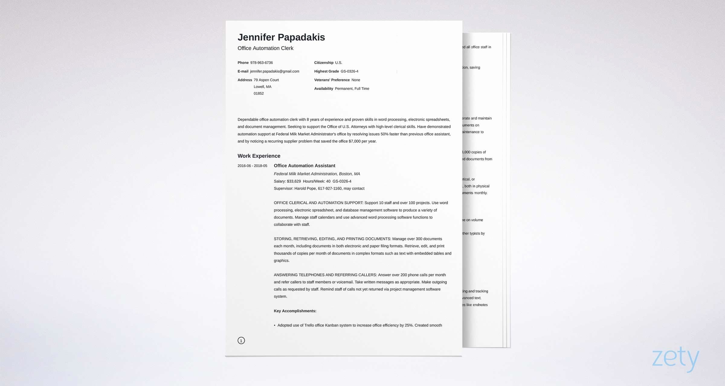 Usa Jobs Sample Resume Lovely Federal Resume Template and Plete Writing Guide [20