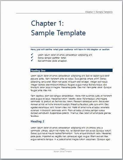 User Guide Template Word Inspirational User Manual Template Microsoft Word Templates