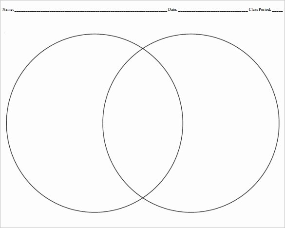 Venn Diagram Template Doc Best Of Blank Venn Diagram that You Can Type In