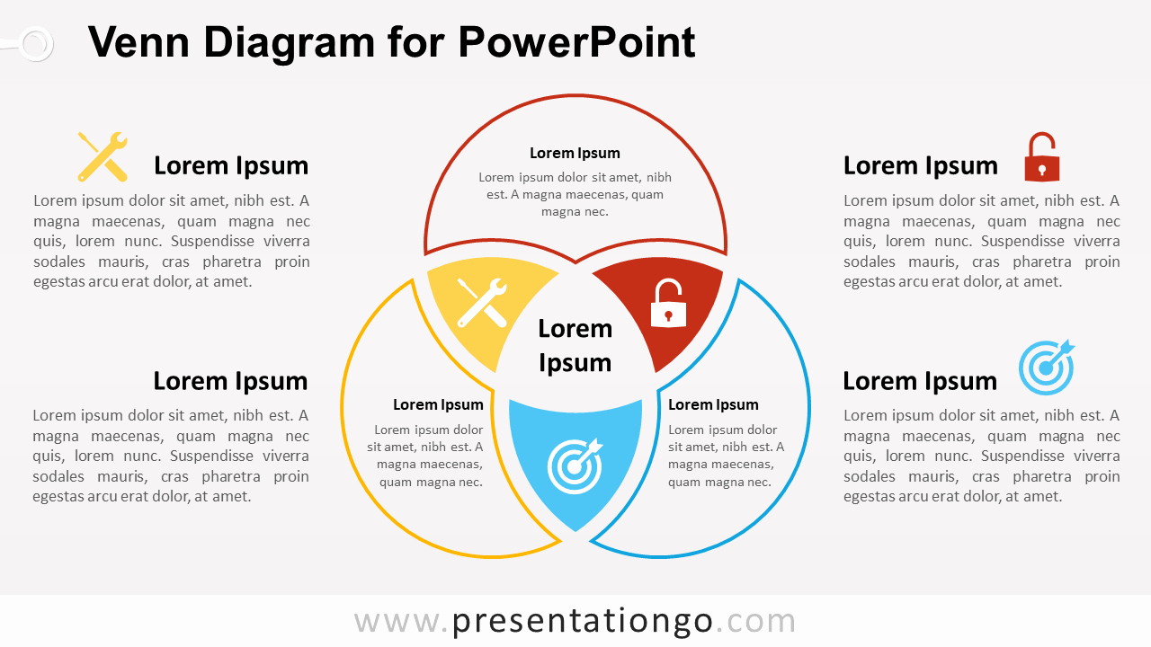 Venn Diagram Template Doc New Venn Diagram for Powerpoint Presentationgo