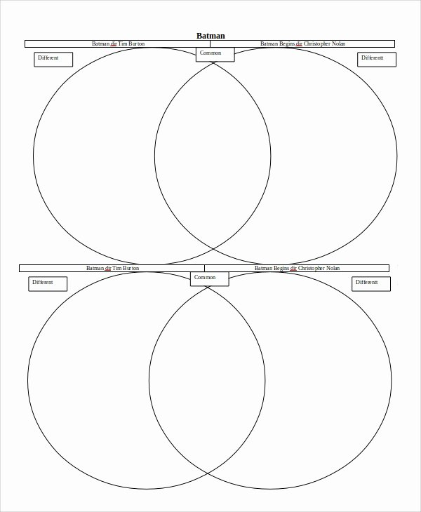 Venn Diagram Template Doc New Venn Diagram Template 5 Free Word Pdf Documents