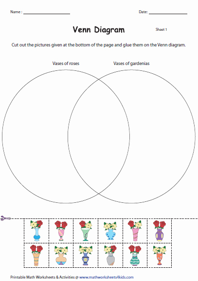 Venn Diagram Worksheets Beautiful Venn Diagram Activities and Templates