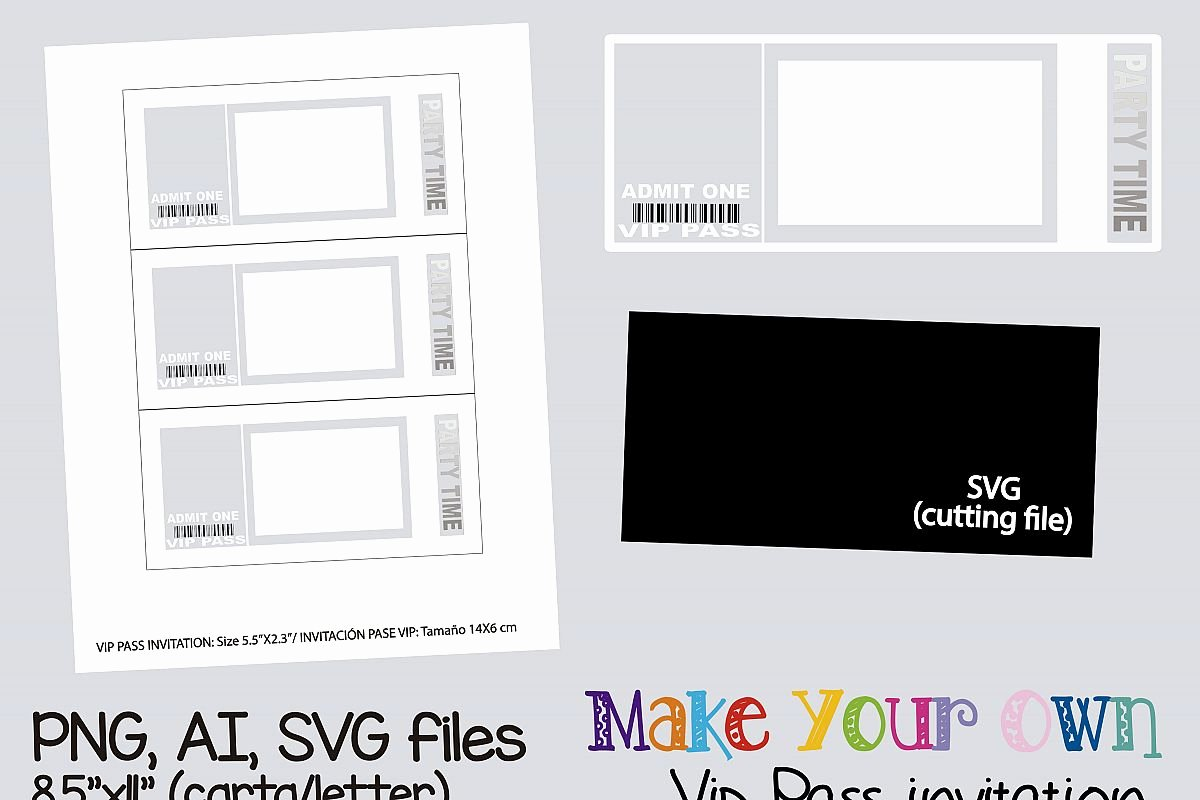 Vip Pass Template Microsoft Word Inspirational Vip Pass Invitation Template Collage Sheet Template