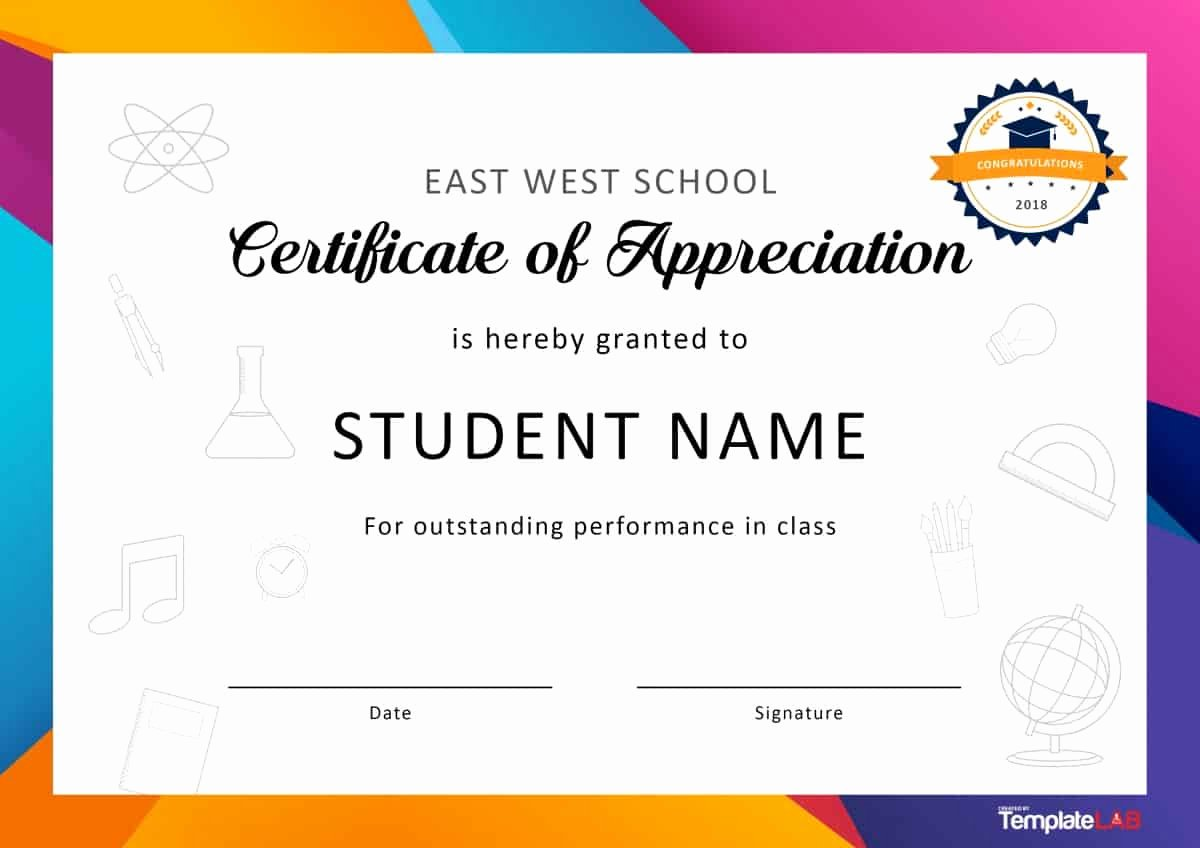 Volunteer Certificate Of Appreciation Templates Beautiful 33 Certificate Of Appreciation Template Download now