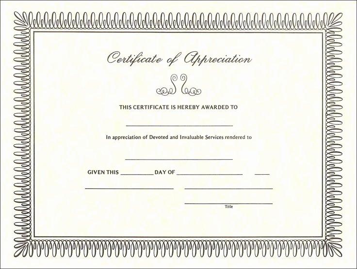Volunteer Certificate Of Appreciation Templates Inspirational Free Certificate Of Appreciation Sample