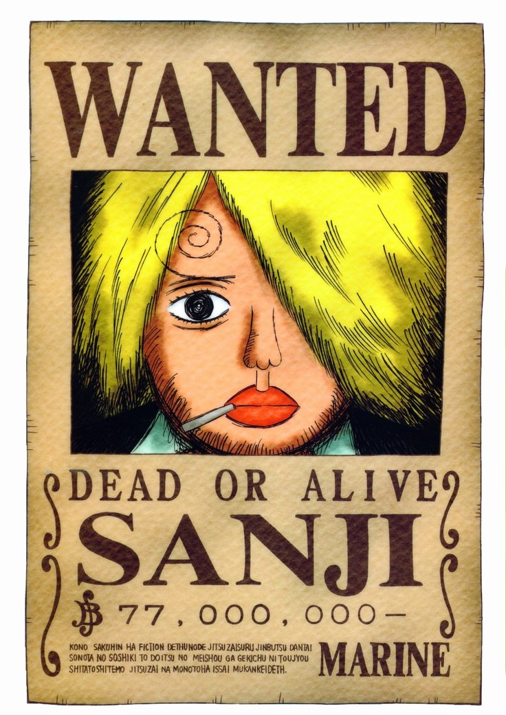 Wanted Poster One Piece Awesome 13 Best Images About E Piece Bounties On Pinterest