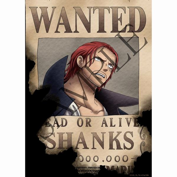 Wanted Poster One Piece Awesome One Piece Wanted Poster Others Ficial Licensed Product
