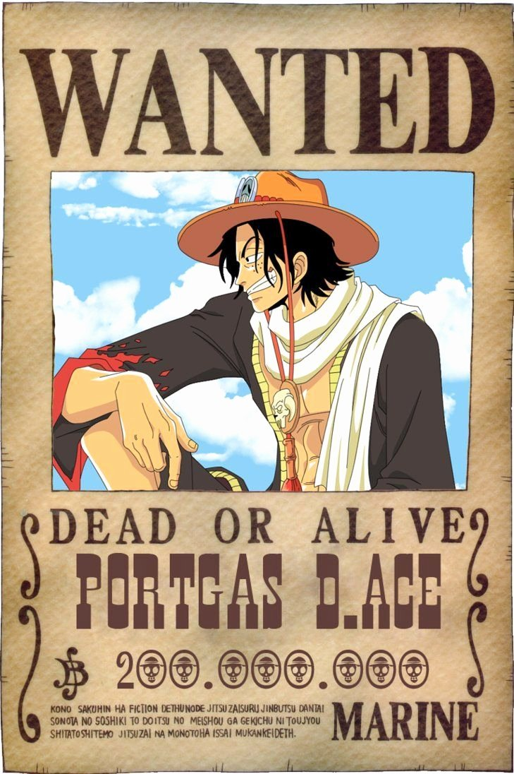 Wanted Poster One Piece Awesome Wanted Poster E Piece Wallpapers Wallpaper Cave