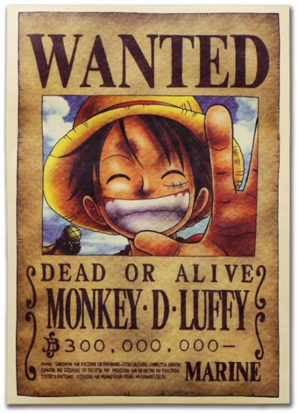 Wanted Poster One Piece Beautiful Anime E Piece Pirates Wanted Posters 1pcs Set,ace Poster
