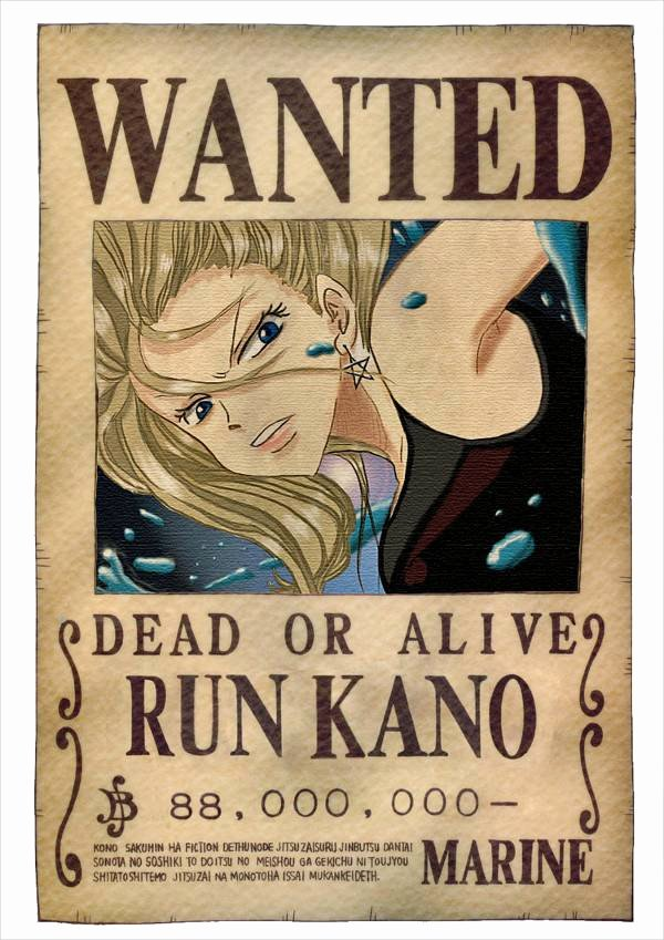 Wanted Poster One Piece Elegant Wanted Poster Design