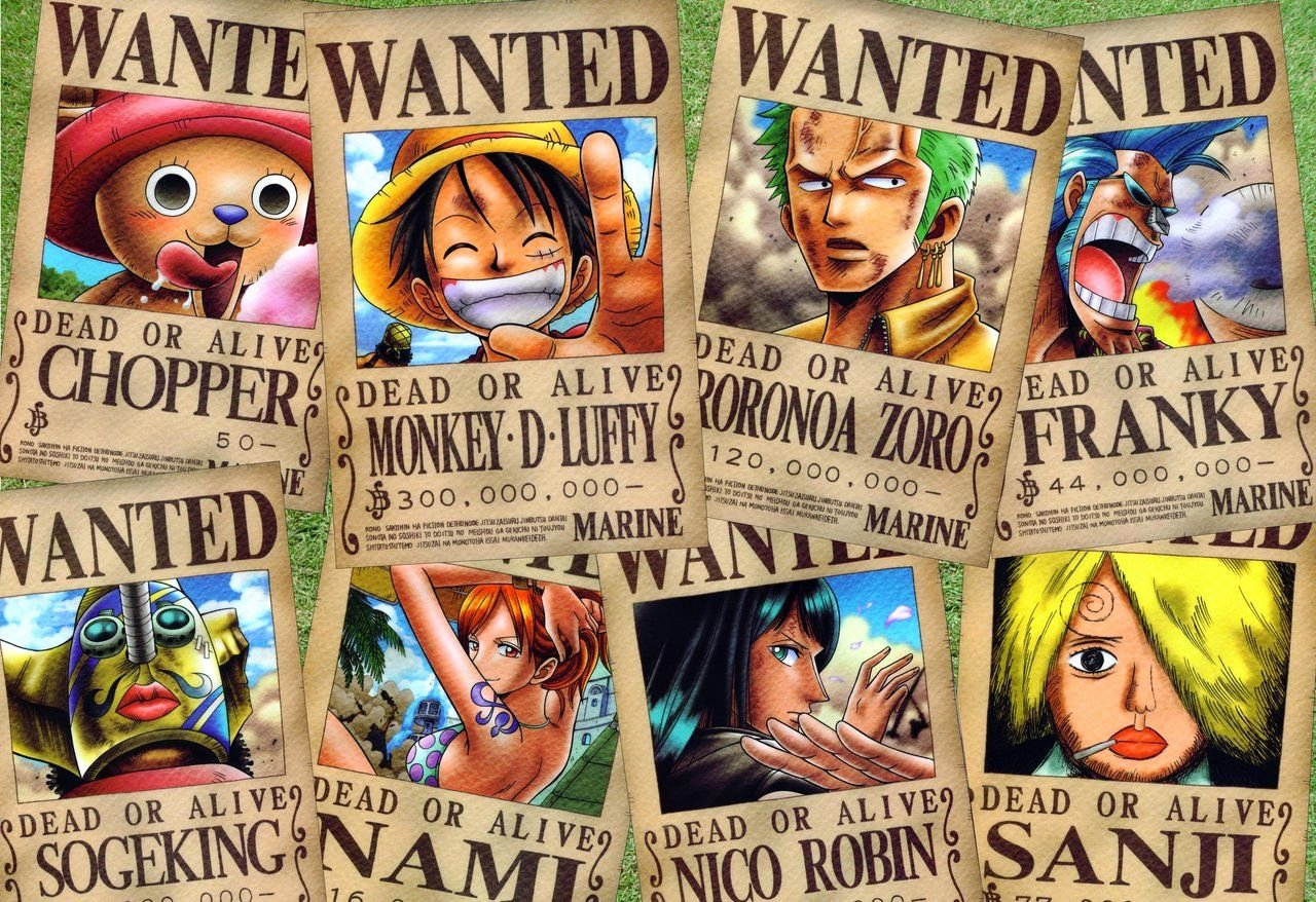 Wanted Poster One Piece Lovely Wanted Poster E Piece Wallpapers Wallpaper Cave