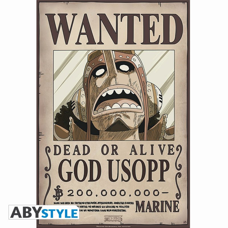 Wanted Poster One Piece Unique One Piece Portfolio 9 Posters Wanted Abystyle