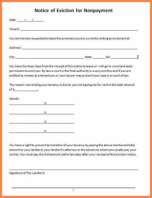 Warning Letter to Tenant Elegant 11 Tenant Warning Notice