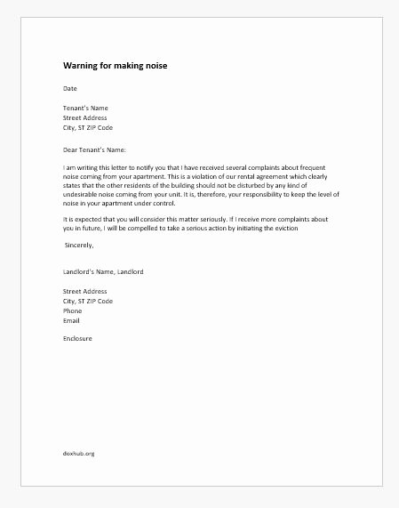 Warning Letter to Tenant Lovely Salary Certificate Request Letters Samples