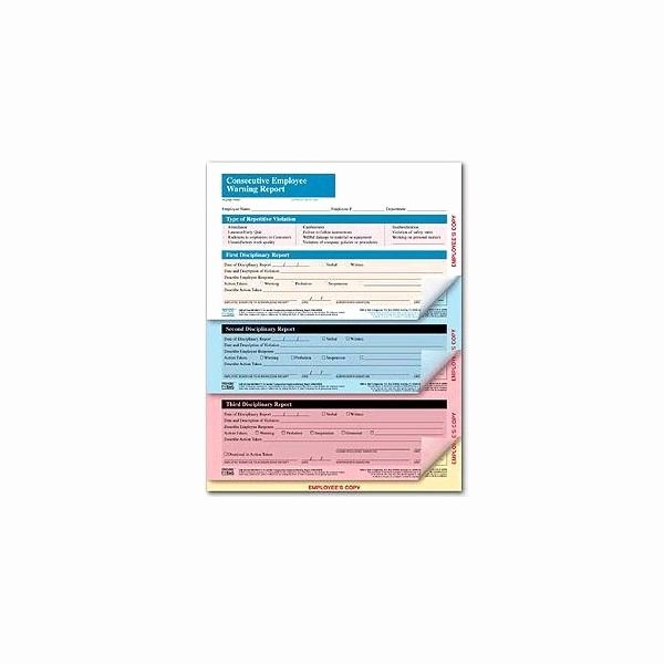 Warning Sheets for Employees Beautiful Free Generic forms for Disciplinary Actions for Employees