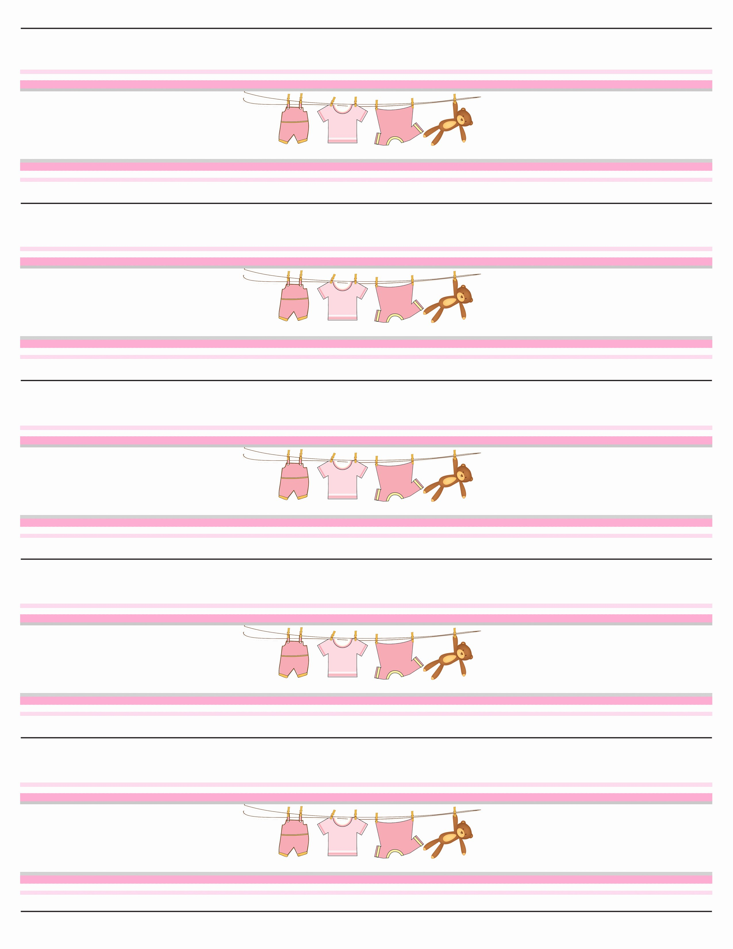 Water Bottle Template Free Best Of Baby Girl Shower Free Printables How to Nest for Less™