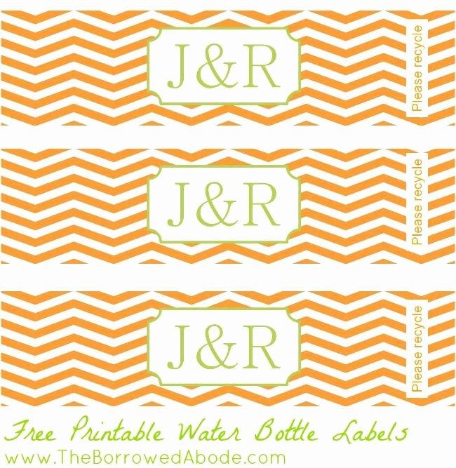Water Bottle Template Free Elegant Free Printable Water Bottle Labels