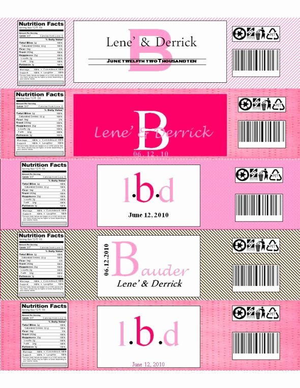 Water Bottle Template Free Inspirational Please Share with Me Your Printable Water Bottle Labels